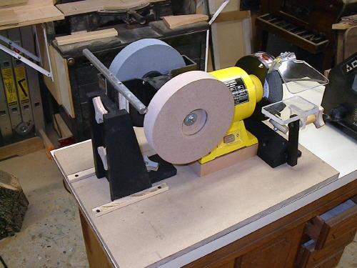 Power Grinder Vs Power Wet Sharpening